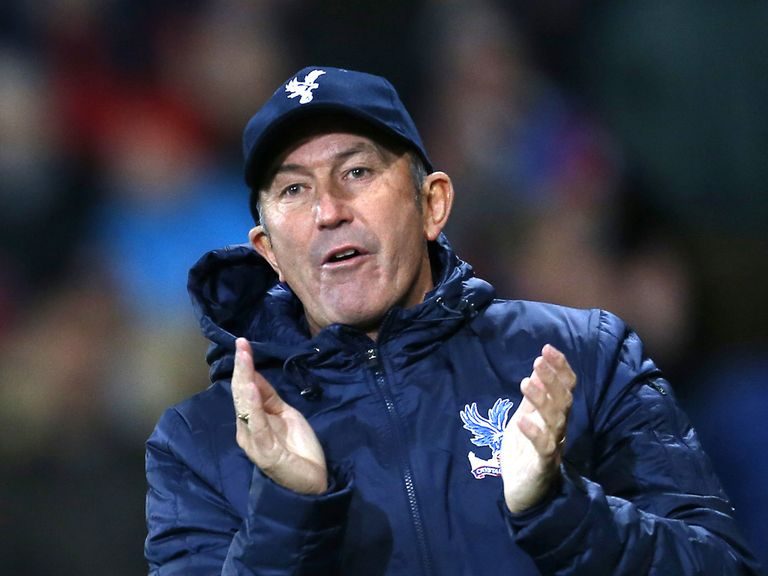 Tony Pulis: Full of praise for his Palace players