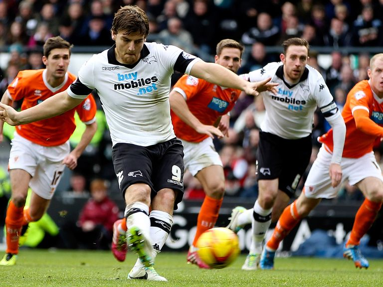 Chris Martin: Fancied to guide Derby to the play-off final