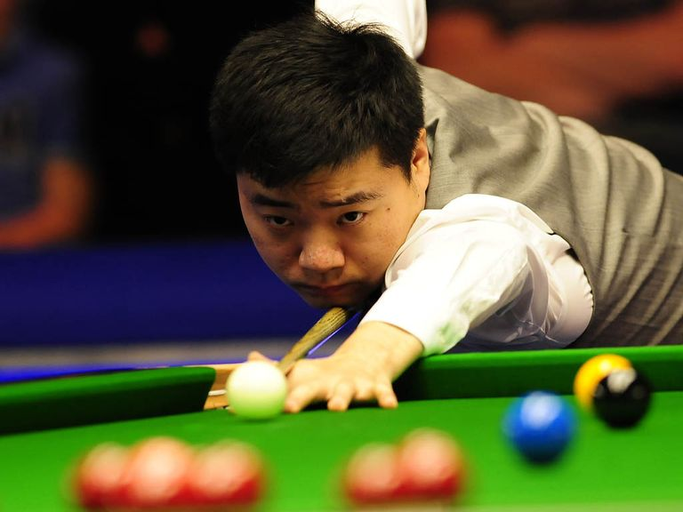 Ding Junhui: Claimed the German Masters title in Berlin