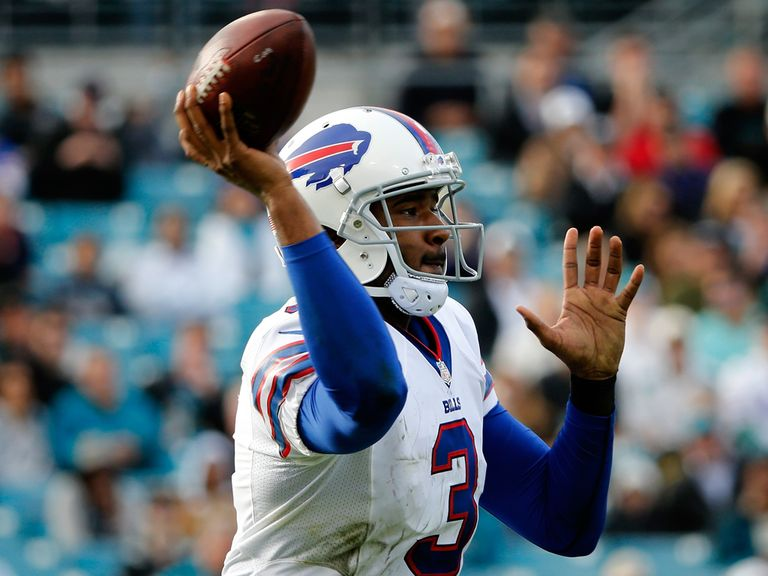 EJ Manuel in action for the Bills