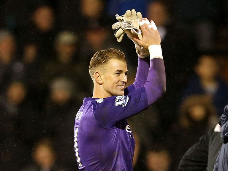 Joe Hart: Could miss Capital One Cup final