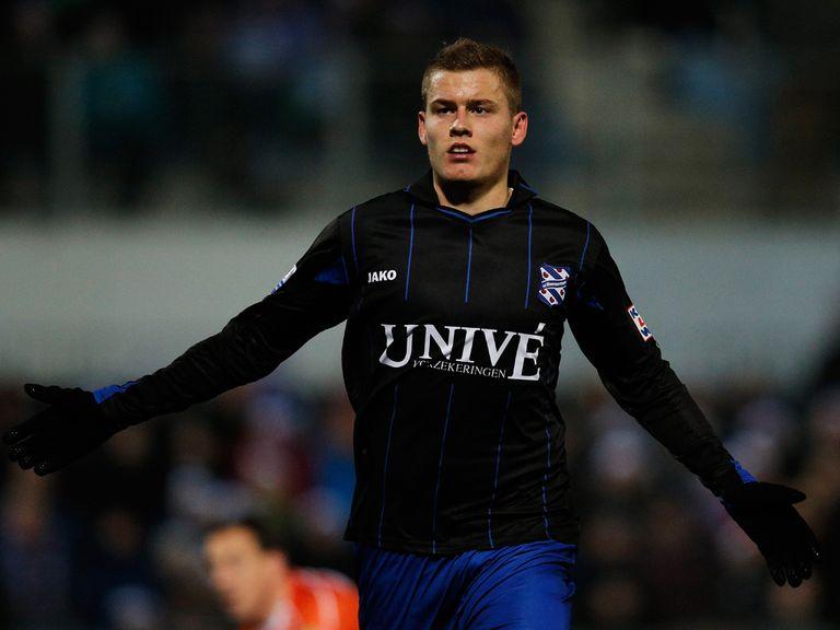 Alfred Finnbogason: Scored Heerenveen's winner