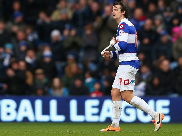 Joey Barton: Has hit back at Mark Hughes