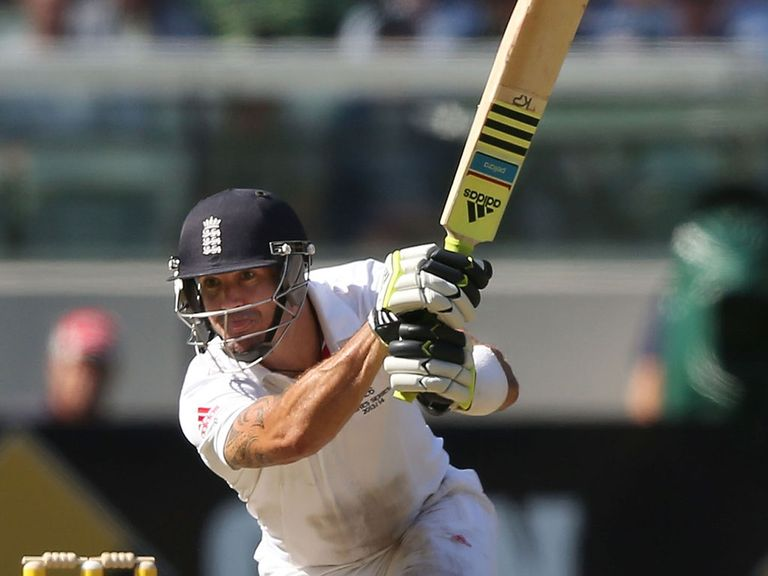 Kevin Pietersen: England's best performer on day one at the MCG