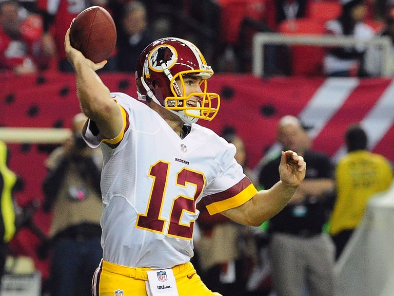 Kirk Cousins in action on Sunday