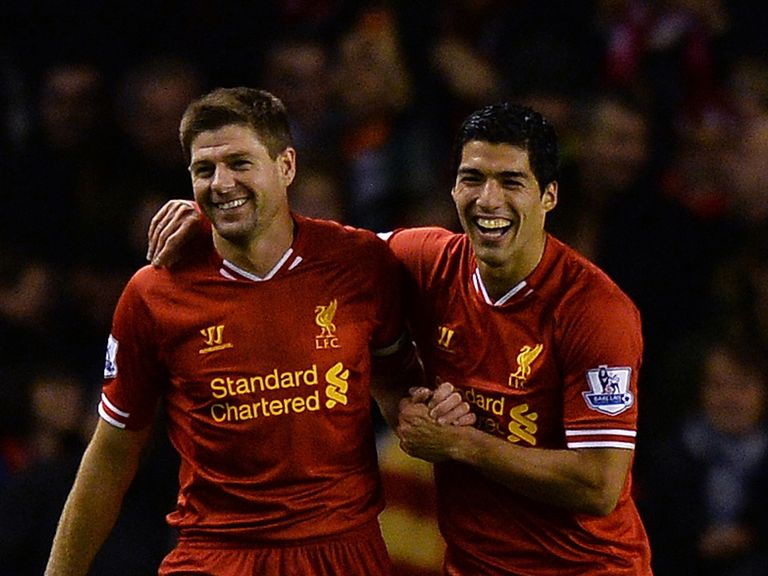 Steven Gerrard: Full of praise for in-form Luis Suarez