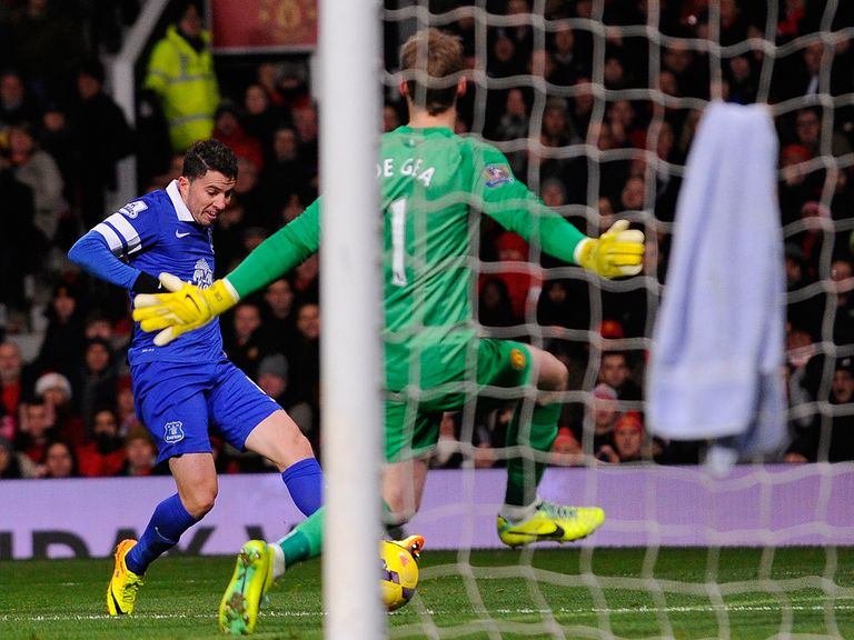 Bryan Oviedo slots home the only goal of the game