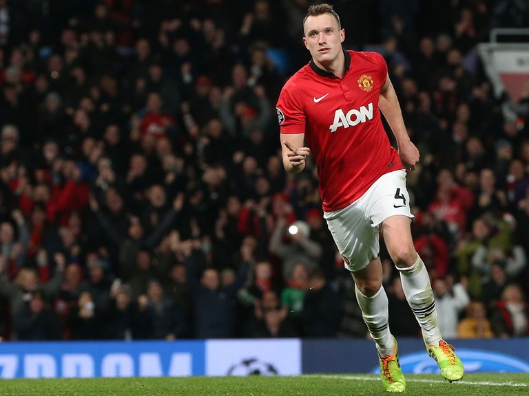 Phil Jones: Buoyed by victory in midweek