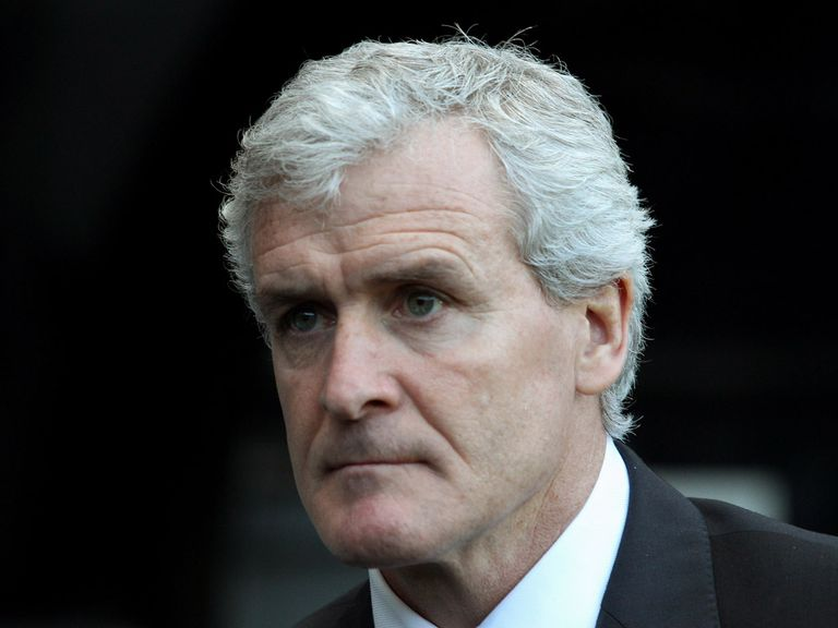 Mark Hughes: Vented his frustration at Newcastle