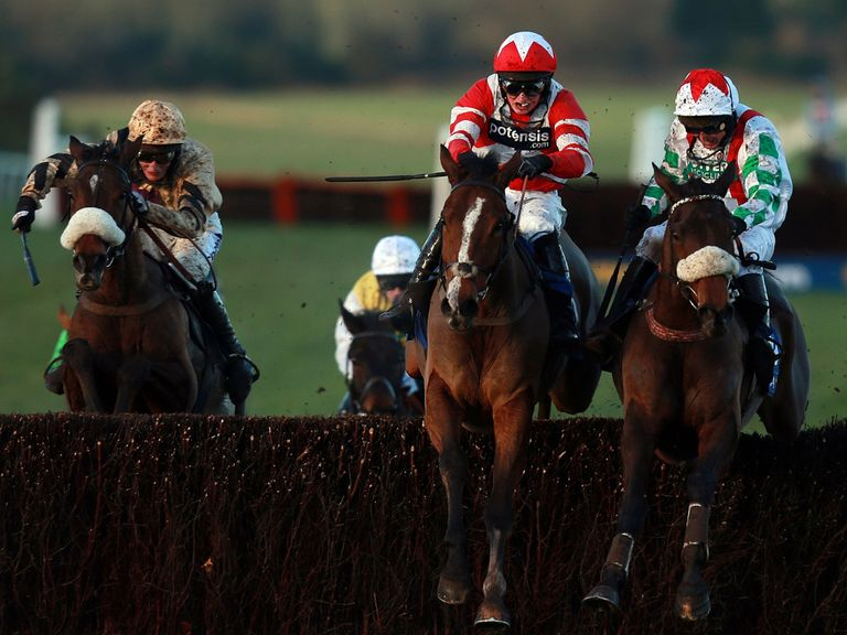 Hawkes Point (red): Can win at Haydock