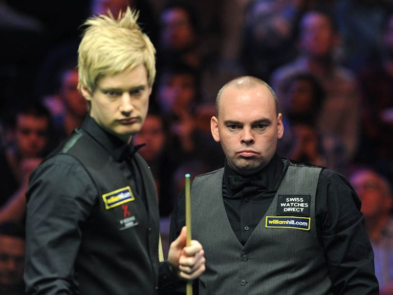 Neil Robertson: Edged out Stuart Bingham 9-8
