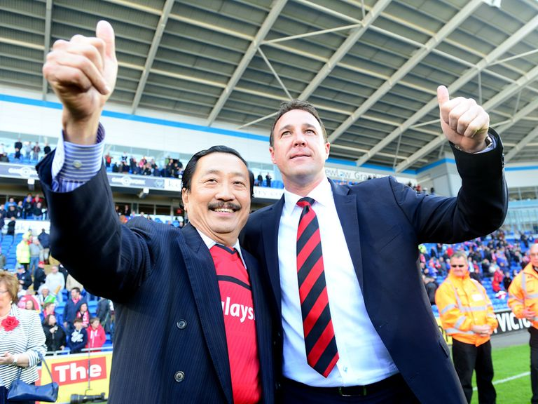 Vincent Tan & Malky Mackay: Ready to rebuild relationship