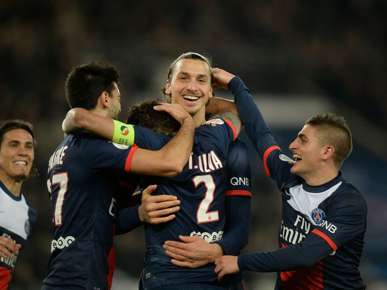 PSG surged to a big win over Lyon