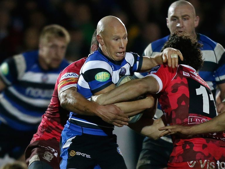 Peter Stringer during his 100th European match