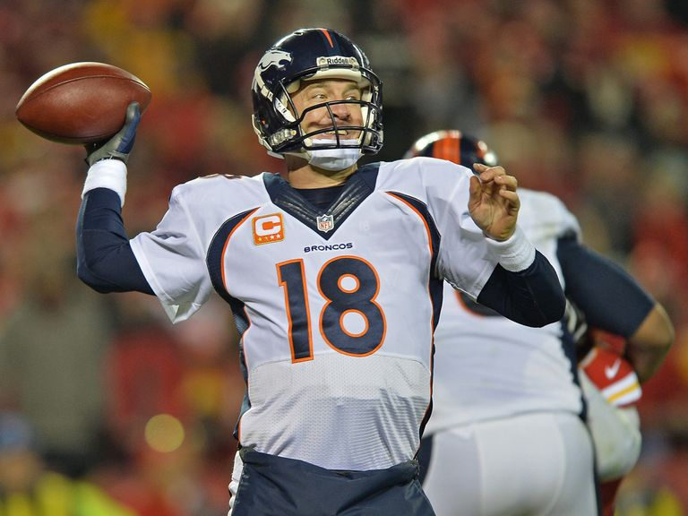 Manning: Threw for 403 yards and five touchdowns