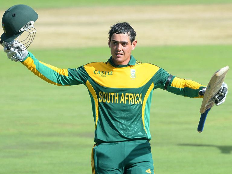 Quinton de Kock: called into South Africa's squad