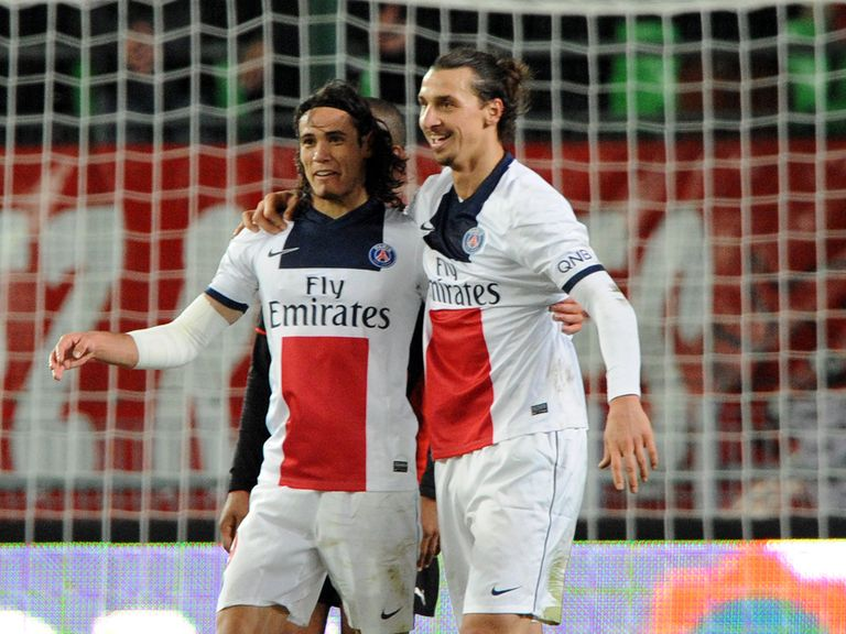 Edinson Cavani and Zlatan Ibrahimovic: No Chelsea move