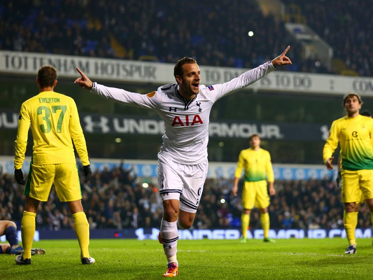 Soldado: Backed to rediscover his goal touch