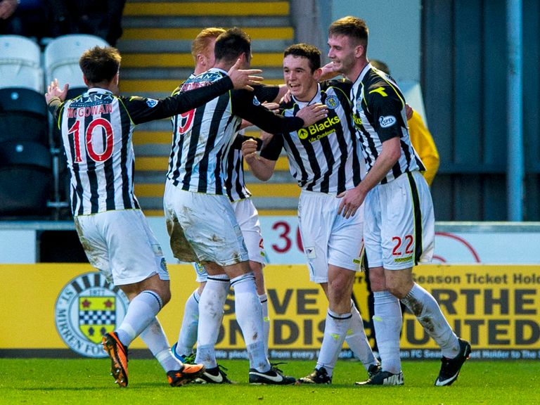 St Mirren take on Hearts on Sunday