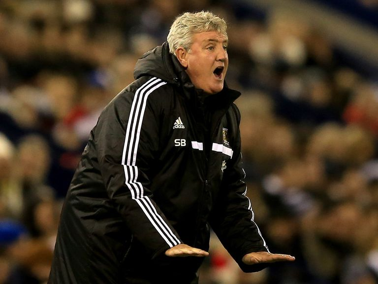 Steve Bruce: Hopes his squad can overcome sickness