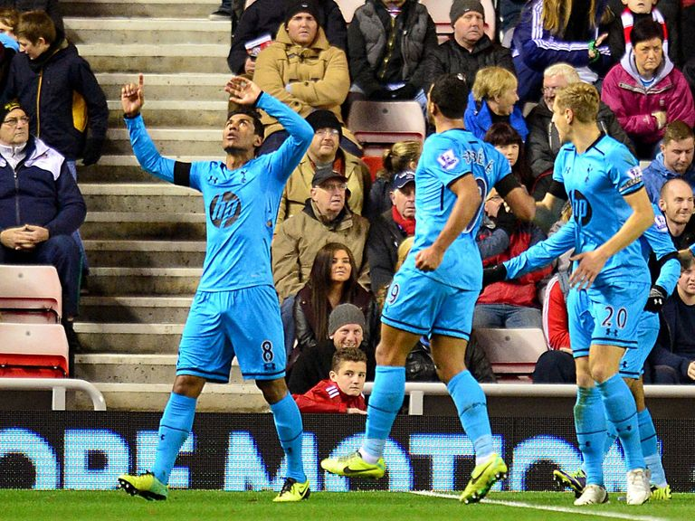 Paulinho: Helped Spurs win at Sunderland