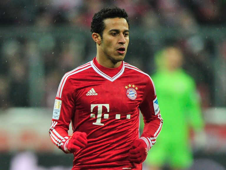 Thiago Alcantara: Ruled out of the World Cup