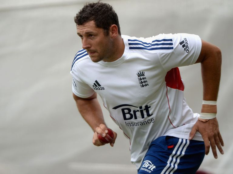 Tim Bresnan: England seamer bowled in the nets on Tuesday