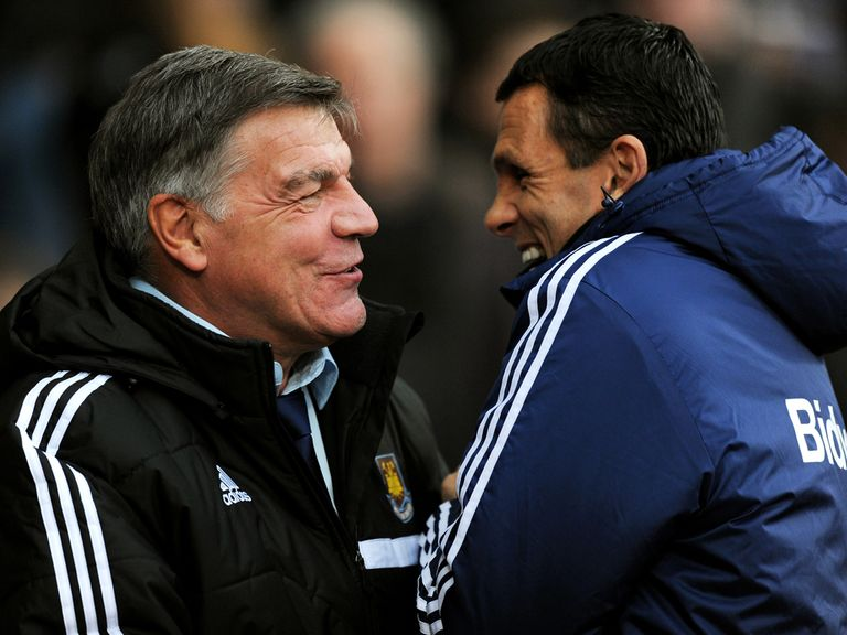 Sam Allardyce and Gus Poyet do battle on Monday