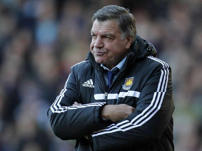 Sam Allardyce: Tough time with West Ham