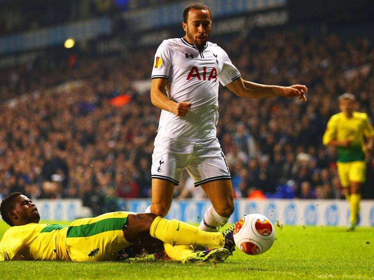Andros Townsend: Has 'a chance' of playing against Everton