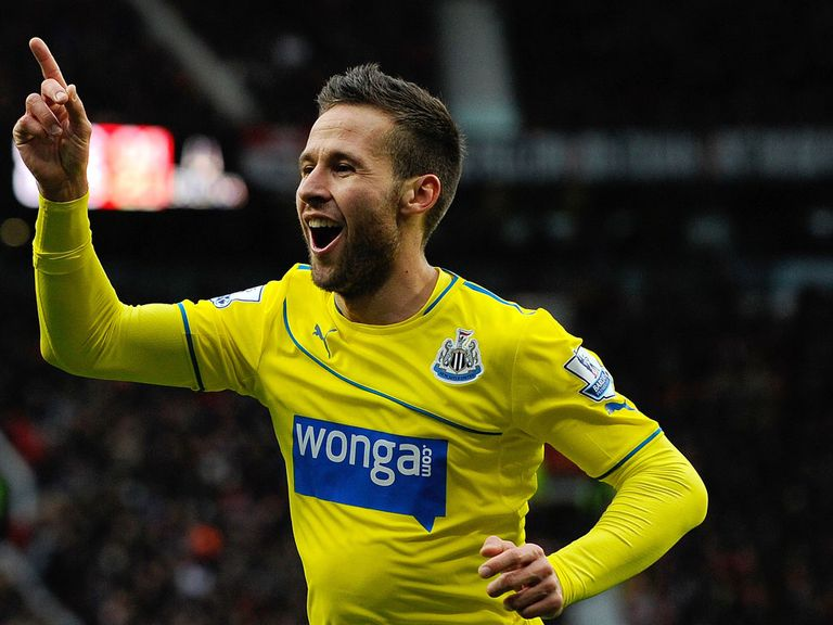 Yohan Cabaye: In fine form this season for Newcastle