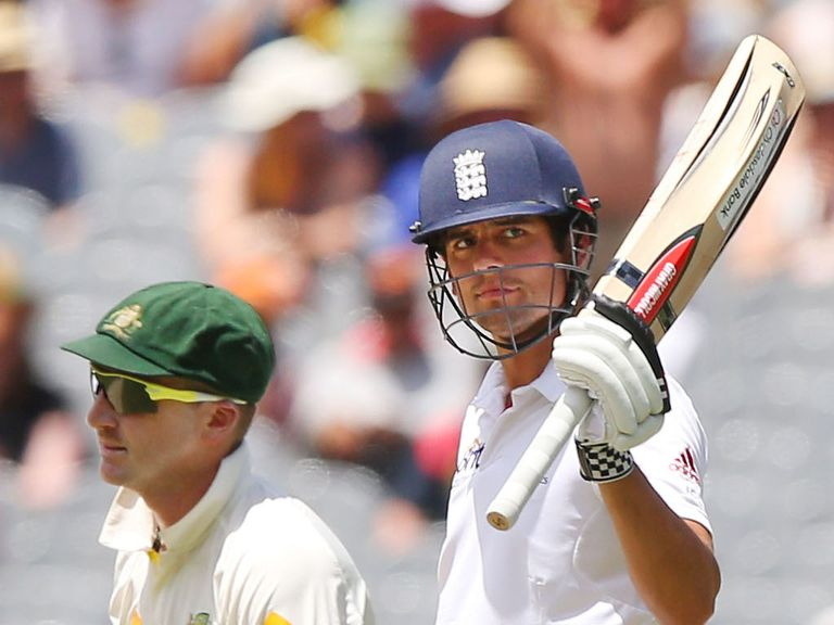 Cook: A bright spot on a bleak day for England