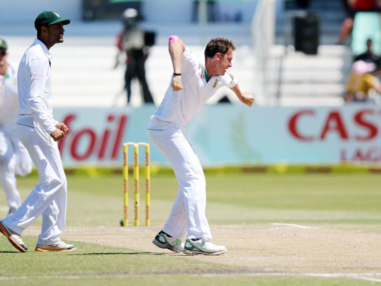 Dale Steyn: Fractured a rib during the recent second Test in Durban