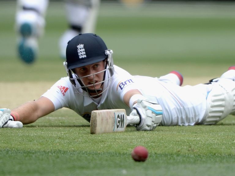 Joe Root: Went for a duck