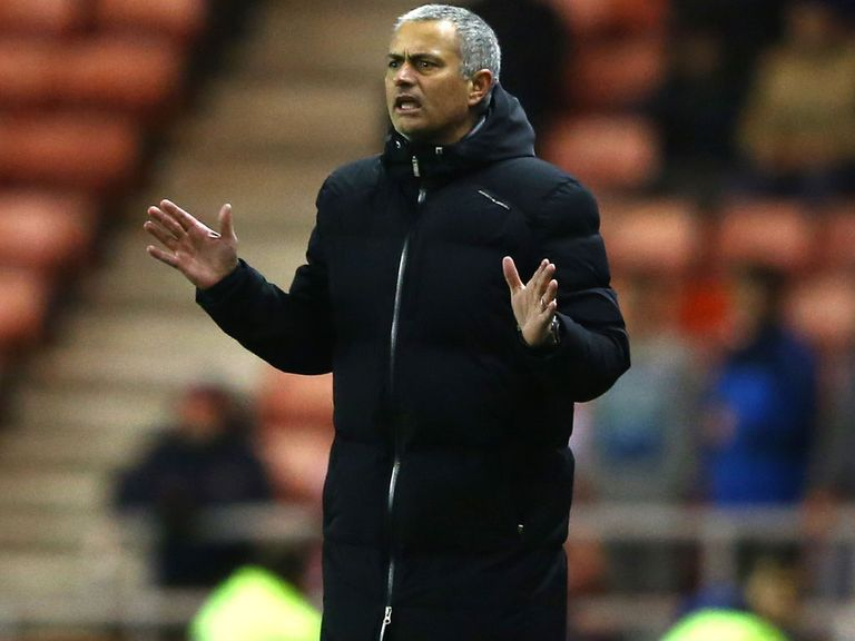 Jose Mourinho: Played down significance of tonight's clash