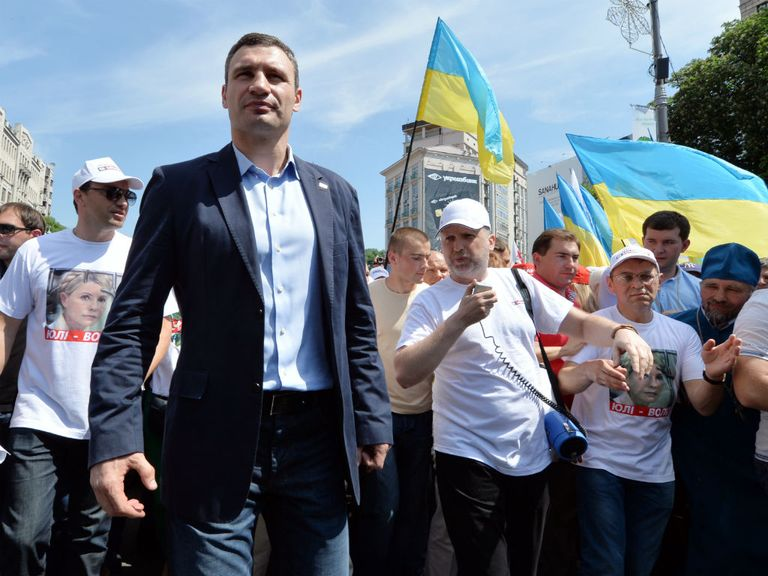 Vitali Klitschko: Swapping boxing for politics
