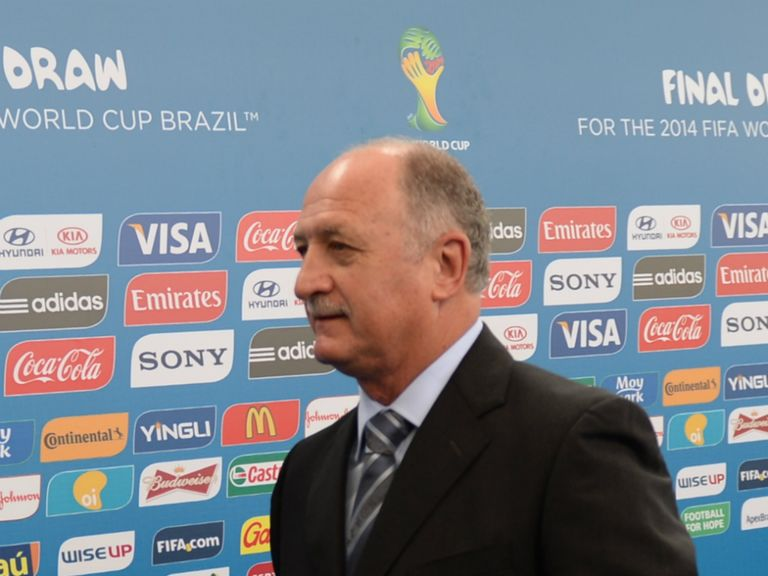 Brazil boss Luiz Felipe Scolari
