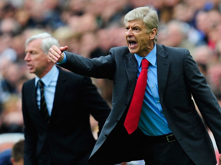Arsene Wenger: Arsenal manager plays down title chances
