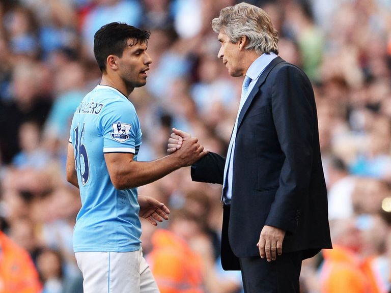 Pellegrini will look to replace Aguero 'in all senses'