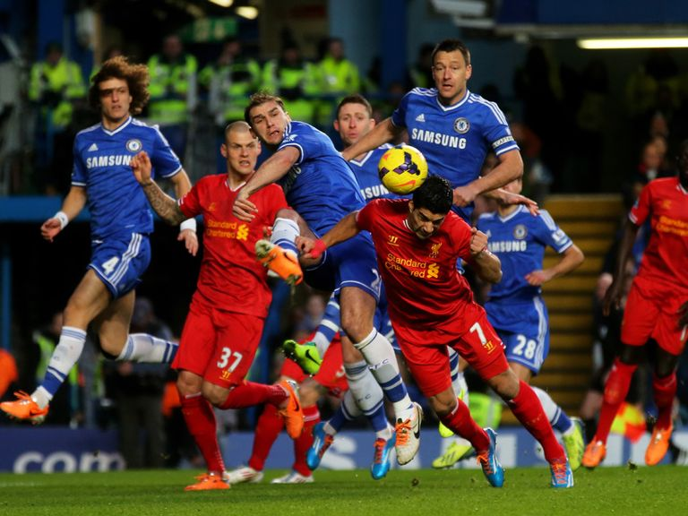 Liverpool v Chelsea is the big Barclays Premier League match on Super Sunday
