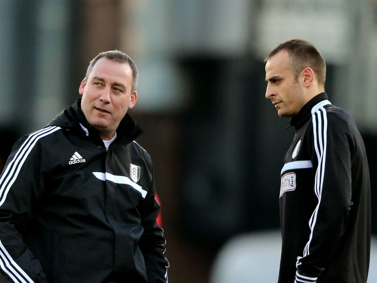 Rene Meulensteen (left): Will be happy to take a point