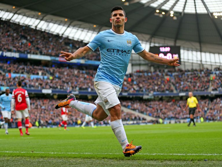 Sergio Aguero: Ruled out with calf problem