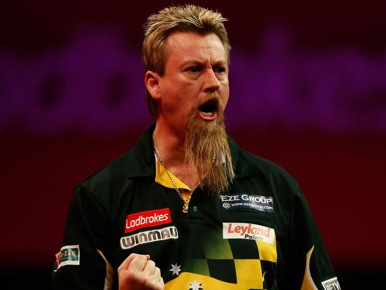 Simon Whitlock: Fancied to overcome Wes Newton