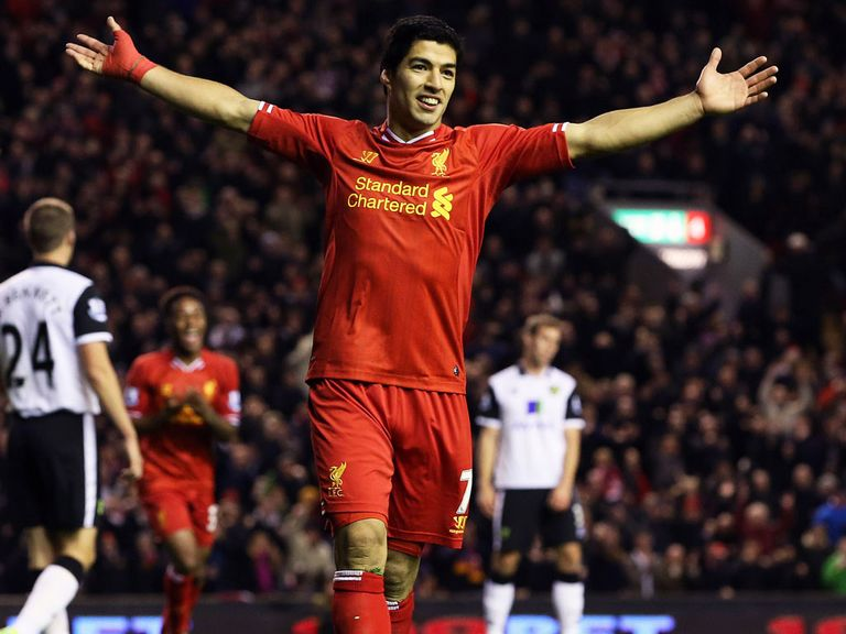 Luis Suarez: Confident Liverpool can achieve a Champions League spot