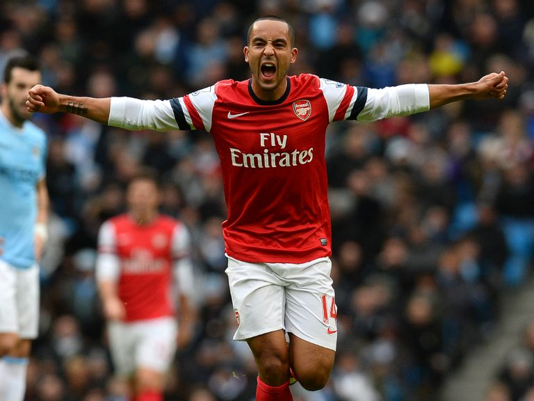 Theo Walcott: Scored twice on his return from injury