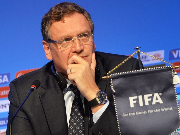 Valcke: Situation 'not ideal'