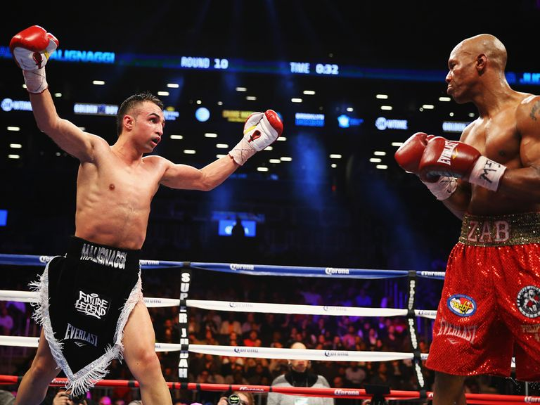 Malignaggi goads Judah in Brooklyn