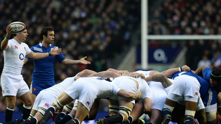 Will Scotland cope with England's forward power?