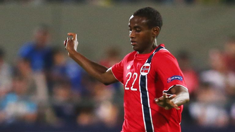 Abdisalam Ibrahim: Norway U21 international released by Manchester City