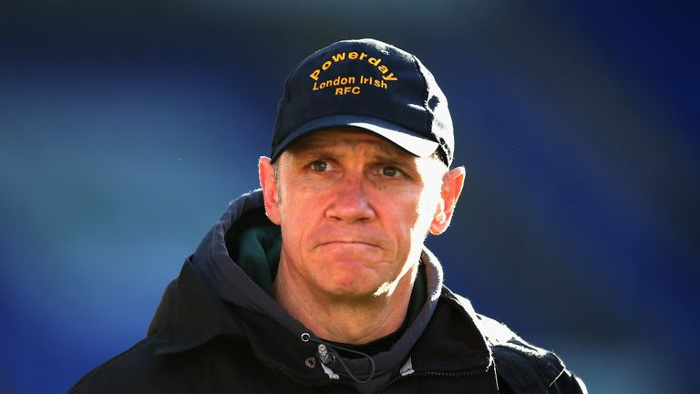 Brian Smith: Delighted with London Irish's execution against Saracens